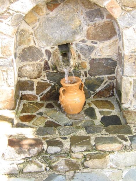 Vattnet på Kreta höll så hög kvalitet så det var bara att dricka tom kranvattnet