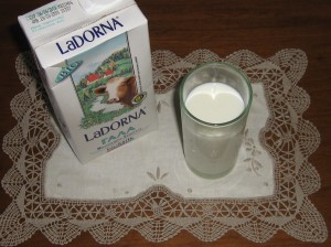 Den här mjölken var så god, så jag var bara tvungen att föreviga den