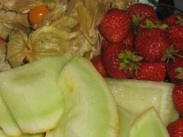 Ett litet fruktfat blev gott efter