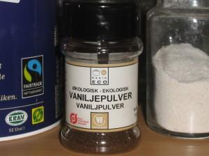 Ekologiskt Äkta Vanilj-pulver är bättre än Rötad Gran