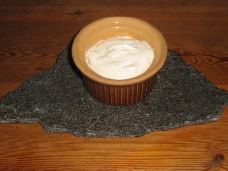 Vitlöks-Yoghurt