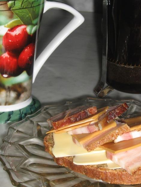 Mättande morgonsmörgås