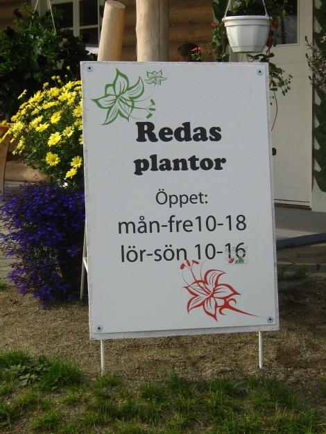 Reda's Plantor på Rödön utanför Östersund