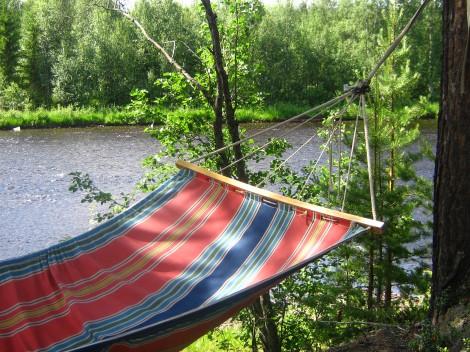 Vad vore en sommar utan stunderna i hängmattan