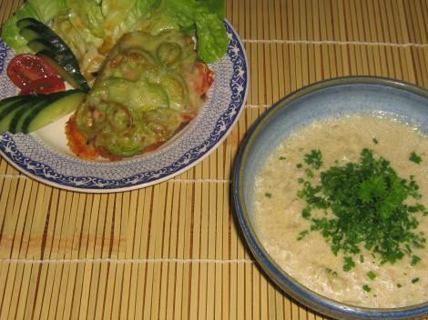 Blomkålssoppa med Varm Sardinsmörgås