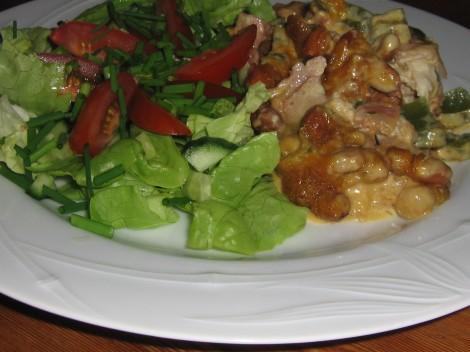 Kyckling till middag, med lite kolhydrater
