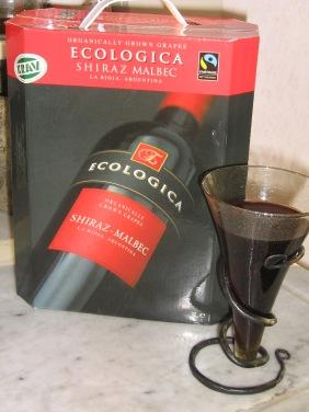 Ecologica, KRAV-märkt Rödvin från Argentina