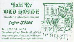 Eski Ev-Old House En av de bästa restaurangerna i Alanya