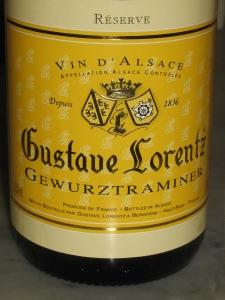 Alsace-vin Gustave Lorentz