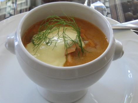Fisksoppa med Aioli