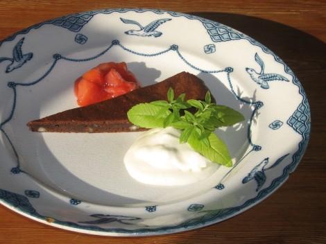 Chokladkladdkaka med 70%ig Mörk Choklad