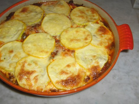Lowcarb Lasagne