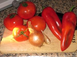 Grönsaker direkt från Marknaden. 5-10kr/kg för det mesta.