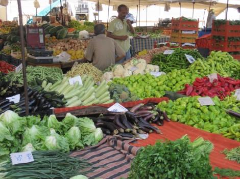 Söndagsmarknaden i Alanya