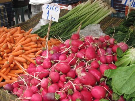 Goda frukostvanor innehåller grönsaker, i allafall i Turkiet