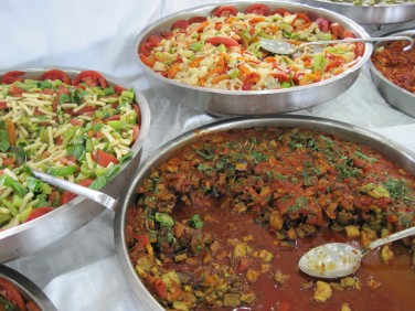 Lunchbuffé i Konya