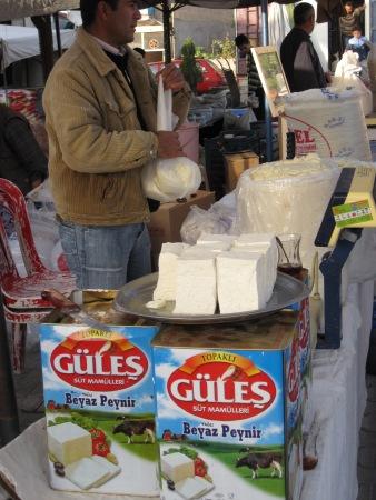 Färskost-Beyaz Peynir är en storsäljare i Turkiet