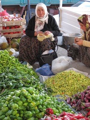 Grönsaksförsäljare