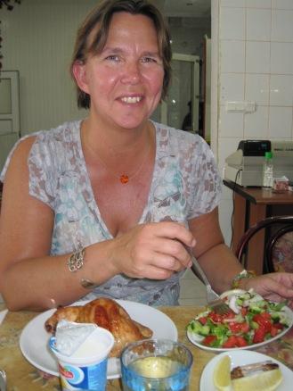Birgitta Höglund i Alanya