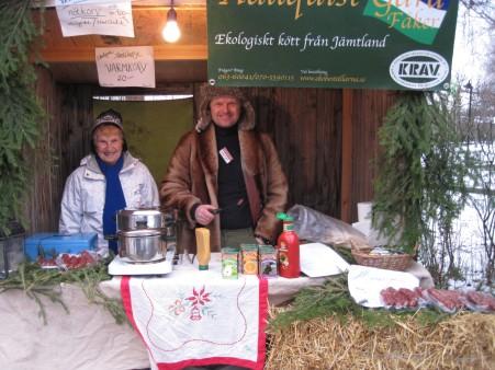 Hallquist Gård i Fåker på Jamtli Julmarknad