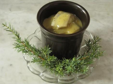 Senapssill med smak av Fläder