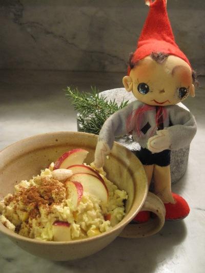 Äggröra med Äpple och Kanel