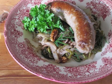 Bratwurst från Berliner Schnitzelstuga