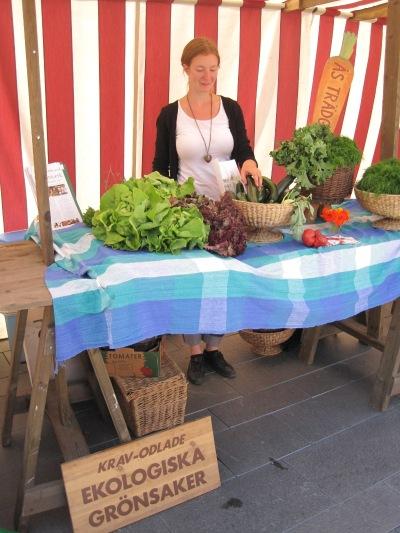 Ås Trädgård på Stortorget i Östersund