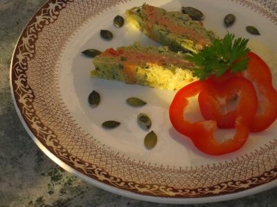 Broccolipaté med Tomat