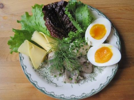 Inlagd Sill med Ägg och Ost