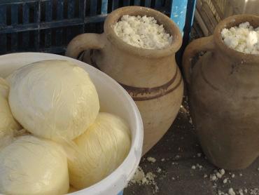 Smör och Färskost på Turkisk marknad