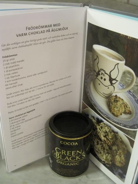 Ett av mina recept i Anna Halléns Energibarn - Klicka här och läs mer om boken på Annas blogg