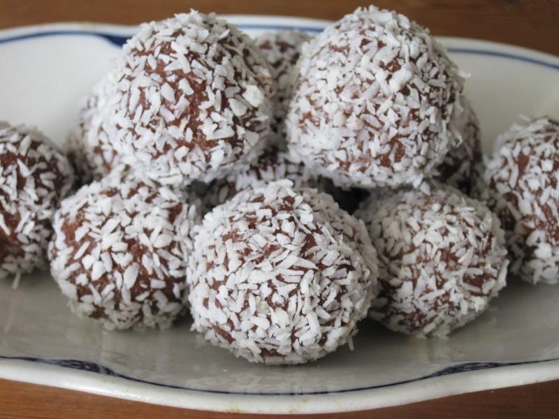 chokladbollar med bregott