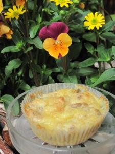 Lowcarb-Muffins med Västerbottensost och Frön