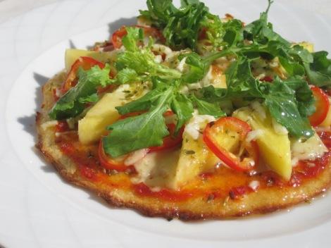 LCHF-Pizza à la Birgitta Höglund