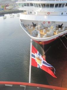 MS Midnatsol i Trondheims hamn