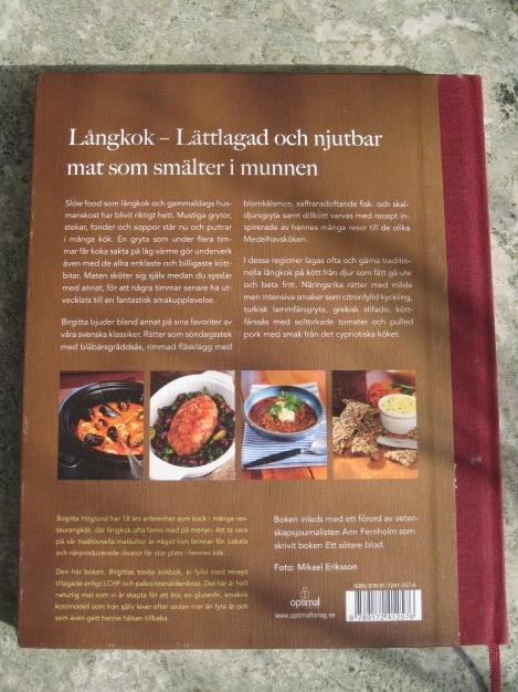 Baksidestext från Långkok för LCHF och Paleo