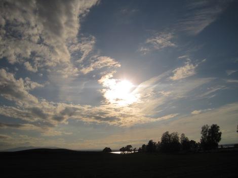 Sol över Storsjön