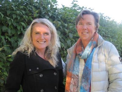 Lindha Vikström och Birgitta Höglund
