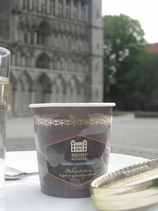 Ekologisk vaniljglass från Reins Kloster vid Nidarosdomen