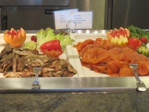 Lunchbuffé på MS Finnmarken