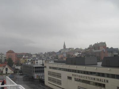 Hurtigruteterminalen i Bergen