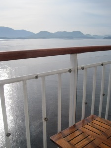 Vår balkongutsikt
