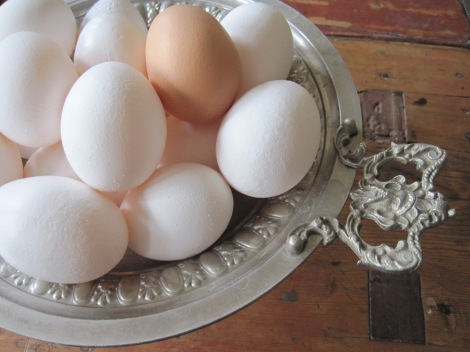 Ägg från glada hönor