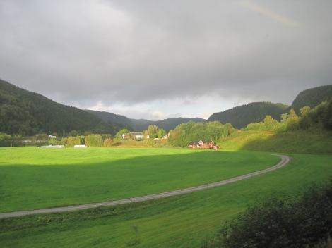 Tåg genom Norge