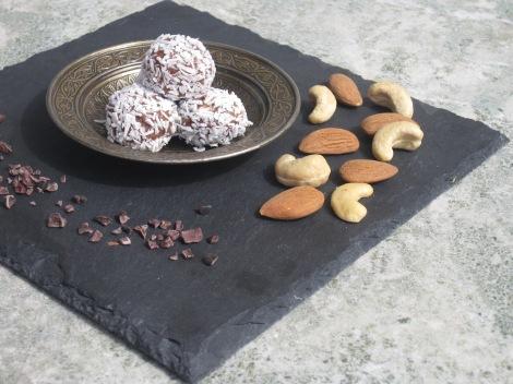 Nötchokladbollar