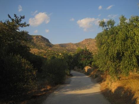 Promenad till Aspros Potamos