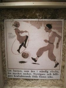 Utställningen Socker på Nordiska Museet