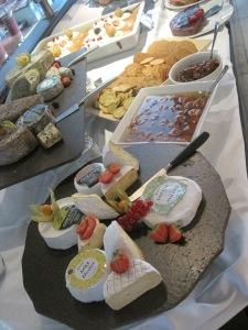 Dessertbordet på Rica Hell Hotell