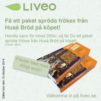 Kampanj Spröda frökex från Huså Bröd